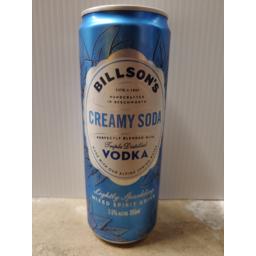 Photo of Billson's Vodka With Creamy Soda