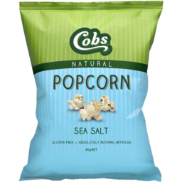 Photo of Cobs Popcorn Sea Salt 80g