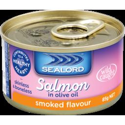 Photo of Sealord Salmon Sensations Smoked 85g