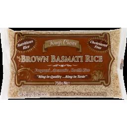 Photo of King's Choice Brown Basmati Rice 750g