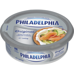 Photo of Philadelphia Spreadable Cream Cheese Original 140gm