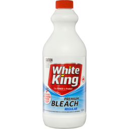 Photo of White King Premium Bleach Regular 1.25l
