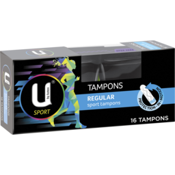 Photo of U By Kotex Regular Sports Tampons 16 Pack