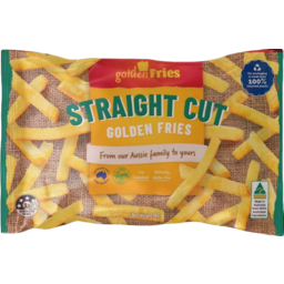 Photo of Golden Fries Straight Cut Fries 1kg