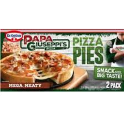 Photo of Papa Giuseppi's Pizza Pies Mega Meaty 2pk 330gm
