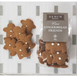 Photo of Dench Mini Gingerbread Frns 100g