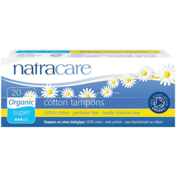 Photo of Natracare Tampons - Super 20 Pack