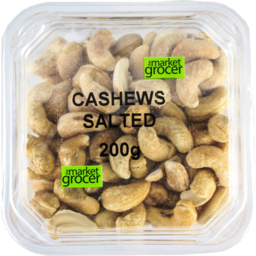 Photo of The Market Grocer Cashews Salted 200gm