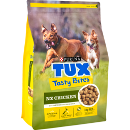 Photo of Purina Tux Bites Dog Food Tasty Chicken 3kg