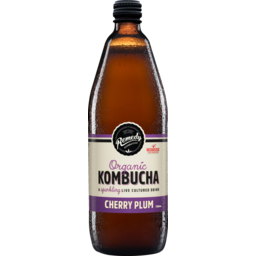 Photo of Remedy Organic Kombucha Cherry Plum 750ml 750ml