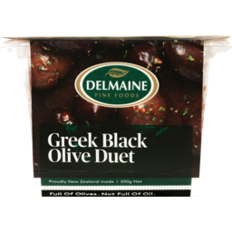 Photo of Delmaine Olives Black Duet 200g