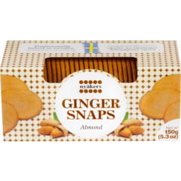 Photo of Nyakers Ginger Snaps Almond 150g 150g
