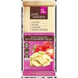 Photo of Sweet William Chocolate White Strawberry 100g