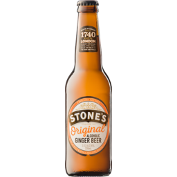 Photo of Stones Original Ginger Beer Bottles
