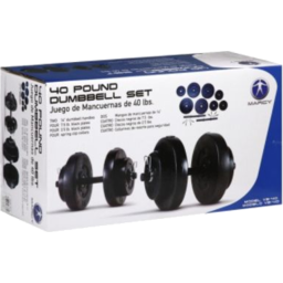 Photo of 40lb Eco Weights Dumbbell Set