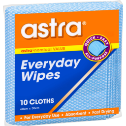 Photo of Astra Everyday Wipes 10 Pack