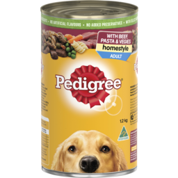 Photo of Pedigree Homestyle with Beef Rice & Vegies 1.2 Kg