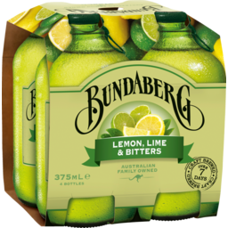 Photo of Bundaberg Lem/Lme Bittrs 4x375ml