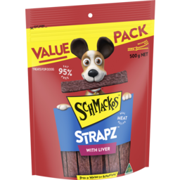 Photo of Schmackos Liver Straps 500gm