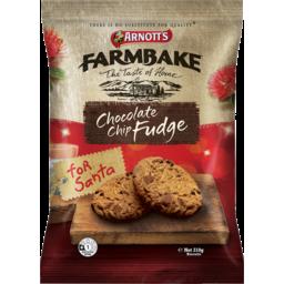 Photo of Arnott's Farmbake Chocolate Chip Fudge Xmas 310g