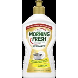 Photo of Morning Fresh Ultimate Dishwashing Liquid Lemon 350ml