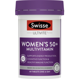 Photo of Swisse Women'S Ultivite 50+ Multivitamin 60x
