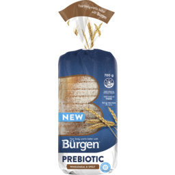Photo of Burgen Prebiotic Wholemeal & Spelt 700g