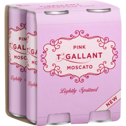 Photo of T'Gallant Pink Moscato Spritz Wine Non-Vintage (6 Case Of 4 Cans)