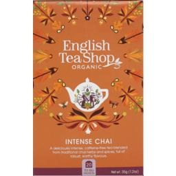 Photo of English Tea Shop - Intense Chai - 20 Bags