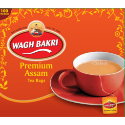 Photo of Wagh Bakri Tea Bags 200g 100pcs - Best Before 31-10-2021
