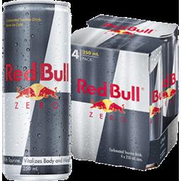 Photo of Red Bull Energy Zero 4x250ml