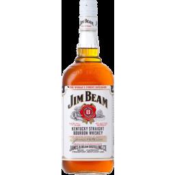 Photo of Jim Beam White Label Bourbon 37% 1lt