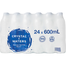 Photo of Crystal Waters Natural Spring Water 24x600ml
