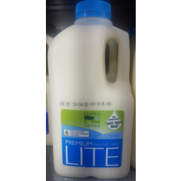 Photo of Country Valley Classic Lite Milk1lt