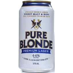 Photo of Pure Blonde Can