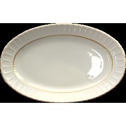 Photo of Kutahya Oval Porcelain Plate 25cm each