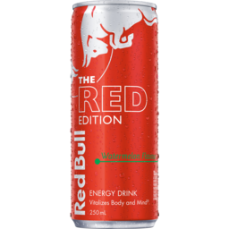 Photo of Red Bull The Red Edition Watermelon Flavour Energy Drink Can 250ml