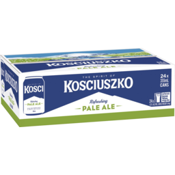 Photo of Kosciuszko Pale Ale 24 X 355ml Can Carton