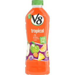Photo of V8 Juice Tropical Fruit & Veggie Juice 1.25 Litre
