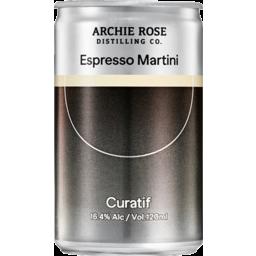 Photo of Curatif Archie Rose Espresso Martini Can