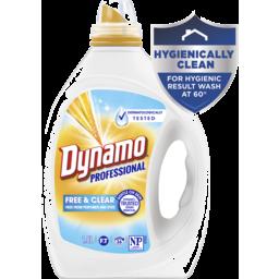 Photo of Dynamo Professional Free & Clear Liquid Laundry Detergent, 1.8l