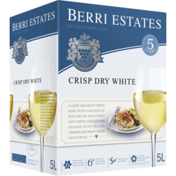 Photo of Berri Estates Crisp Dry White