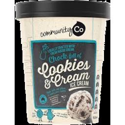 Photo of Community Co. Ice Cream Cookies & Cream 1l