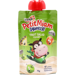Photo of Yoplait Petit Miam Squeezies Fruit Salad 70gm