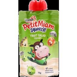 Photo of Yoplait Petit Miam Squeezies Fruit Salad 70gm