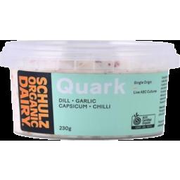 Photo of Schulz Organic Dairy Quark - Dill, Garlic, Capsicum & Chilli