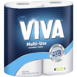 Photo of Kleenex Viva Paper Towel, Multi-Use, 2 Pack