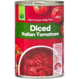 Photo of Select Tomatoes Diced Italian 400g