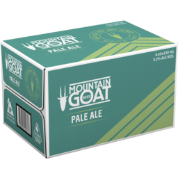 Photo of Mountain Goat Pale Ale 330ml 24 Pack