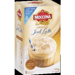 Photo of Moccona Iced Latte Sachets 8pk